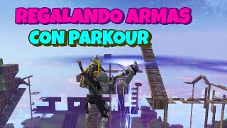 REGALING WEAPONS 106 and 130!! With PARKOUR!! Ft Bones Live - Fortnite Save the World