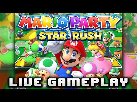 Mario Party Star Rush Gameplay Interactive Multi-Stream
