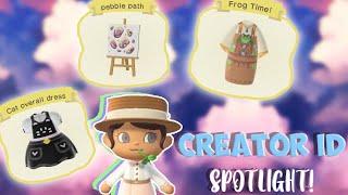 Weekly Creator Id Spotlight!! | Ep. 1 | Animal Crossing New Horizons