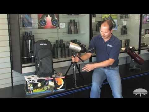 Features of the Orion GoScope 70 Backpack Refractor Telescope