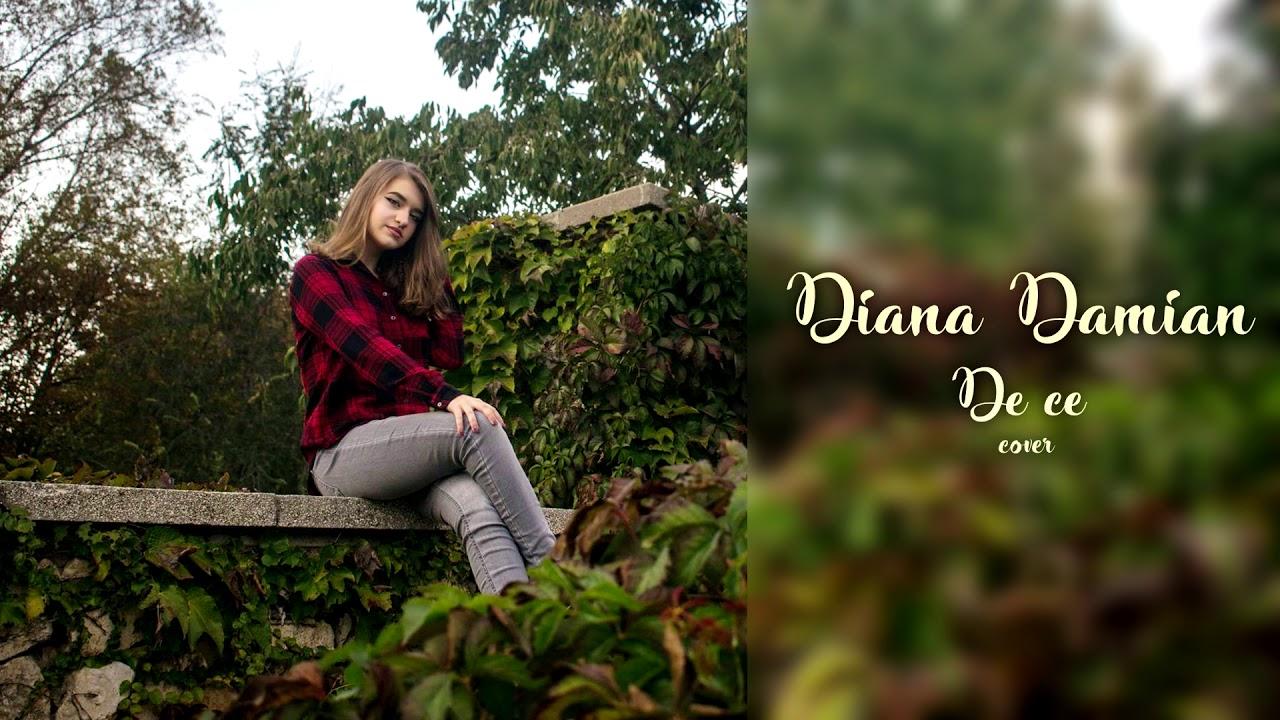 Theo Rose - De ce  cover   Diana Damian