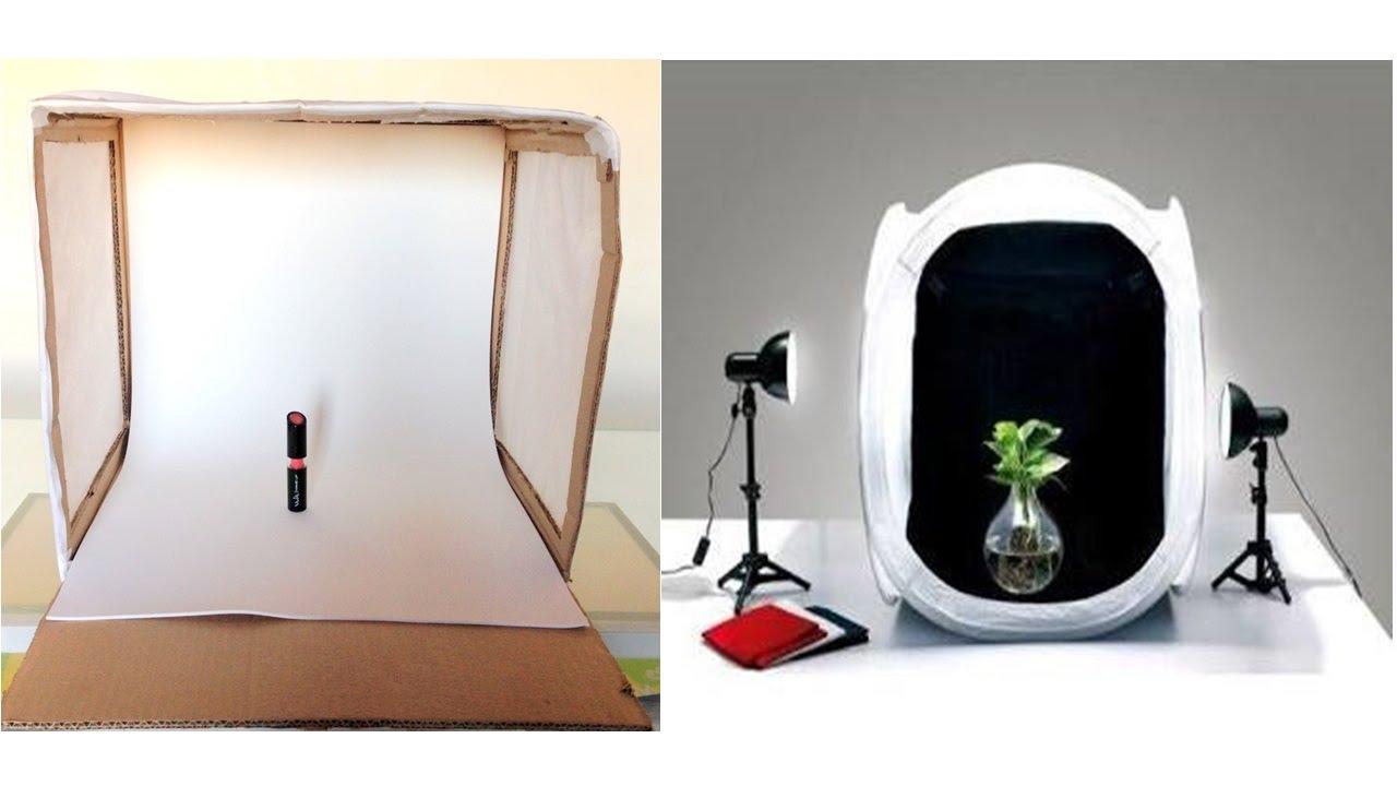 Conhecido Como Fazer Mini Estúdio Para Fotografar Produtos e Objetos - YouTube TY98