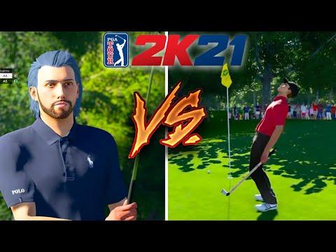 Online gameplay - PGA Tour 2K21  
