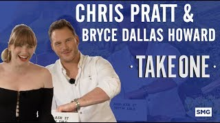 Chris Pratt & Bryce Dallas Howard - Take One on Jurassic World Fallen Kingdom