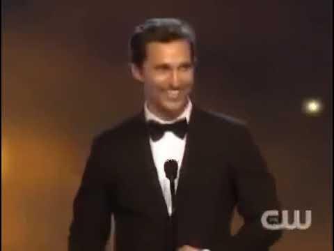 Речь Мэттью Макконахи на вручении ему награды за лучшую роль в Настоящем Детективе. 2014