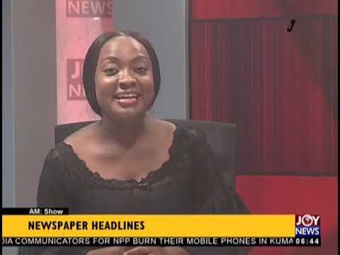 World Leaders Converge On Ghana - AM Show Headlines on JoyNews (13-9-18)