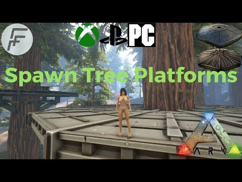 Ark: Survival Evolved How To Spawn A Tree House