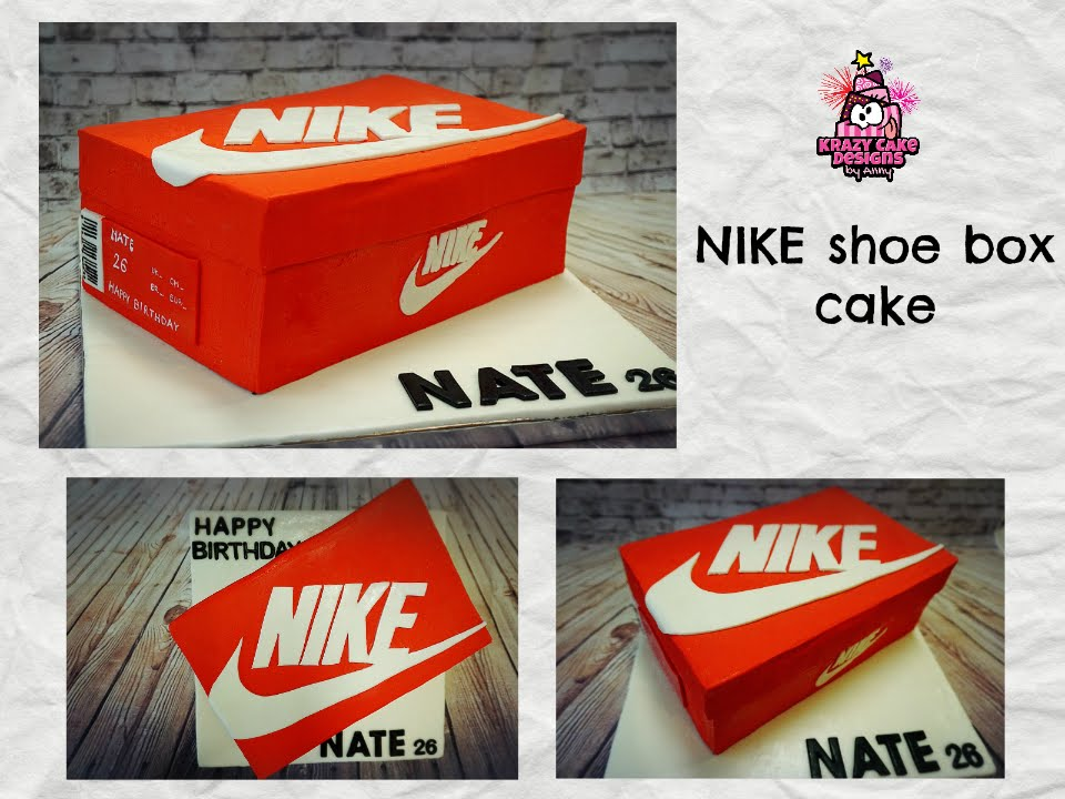 Image Result For Nike Trainer Box Cake