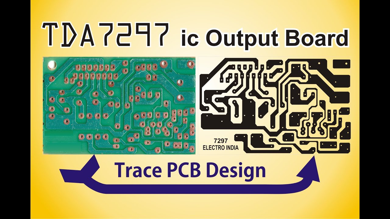 How To Trace Pcb Design In Coreldraw X4 Electro India Youtube