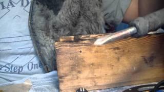 видео Как припаять олово?