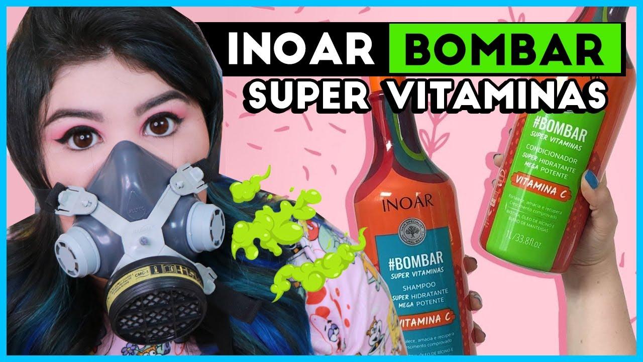 👃 Novo INOAR #BOMBAR SUPER VITAMINAS [Crescimento Capilar]