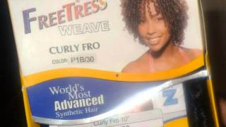 Short Curly Quickweave *FreeTress Curly Fro