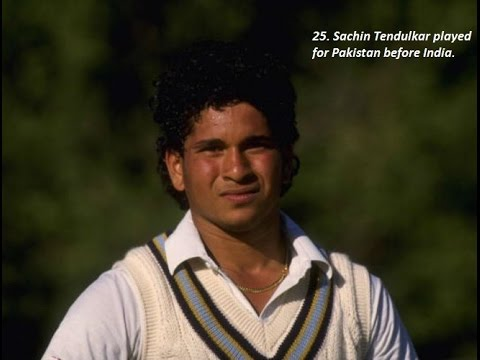 25 Amazing Cricket Facts That'll Blow Your Mind 2/2 (SACHIN played for Pakistan)