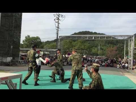 姫路駐屯地創立65周年記念行事 公開プロポーズ
