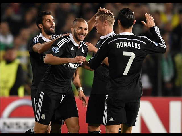 Ludogorets 1-2 Real Madrid Resumen Audio Cope  Champions League 01/10/14