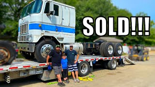 Delivering the Air Force Cabover to the New Father and Son owners