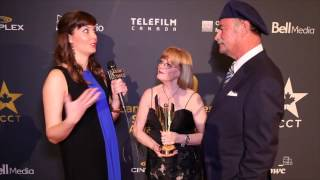 KATIE CHATS: CSA, BARBARA BOWLBY & JOHN BRUNTON, RECIPIENTS ACADEMY ICON AWARD
