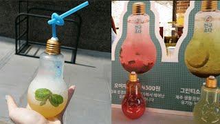 Korean Light Bulb Soda | 전구소다 Jongu soda