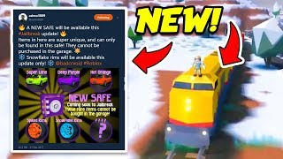 Roblox Jailbreak NEW SAFE AND SECRET ITEMS! NEW WINTER UPDATE LEAK! (Jailbreak New Update)