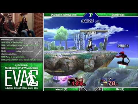 EVAC - Muscat (R.O.B./Zelda) vs Nick (Marth/Falco) - Grand Finals - PM