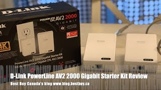 D-Link PowerLine AV2 2000 Gigabit Starter Kit Blogger Review