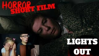 fnshf 25 lights out short horror film reaction plus dthreehorrorgiveaway