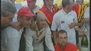 1995/96 Sheffield Shield Final. South Australia v Western Australia Top 10 Video