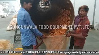 Fully Automatic Pellet Fryums & Kurkure Frying Machine By GUNGUNWALA
