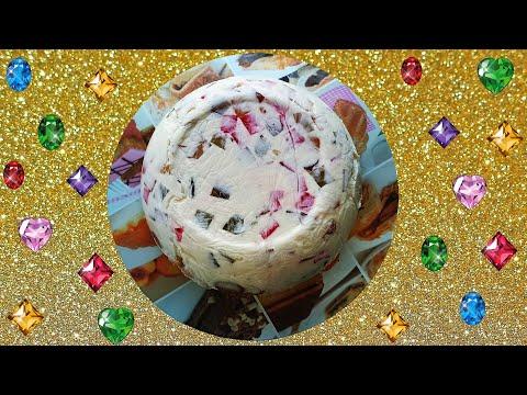 Торт Драгоценная Россыпь без выпечки.  Желейный торт Битое Стекло Рецепт