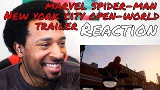 Marvel's Spider-Man (PS4) New York City Open-World Trailer REACTION - DaVinci REACTS