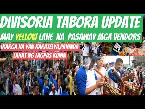 MANILA DIVISORIA LAHAT NG LUMAGPAS SA GUHIT KUNIN! | DPS, MANILA CLEARING OPERATION