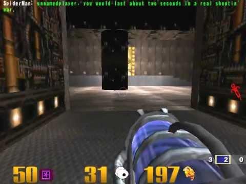 Quake 3 огонь и лед