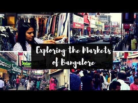 Exploring the Markets of Bangalore | Commercial Street, Indiranagar, UB City and More!