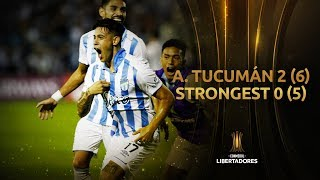 Atlético Tucumán vs. The Strongest [2-0] (6-5) | RESUMEN | Fase 2 | Libertadores 2020