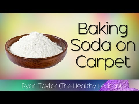 How to get stains out of carpet using baking soda