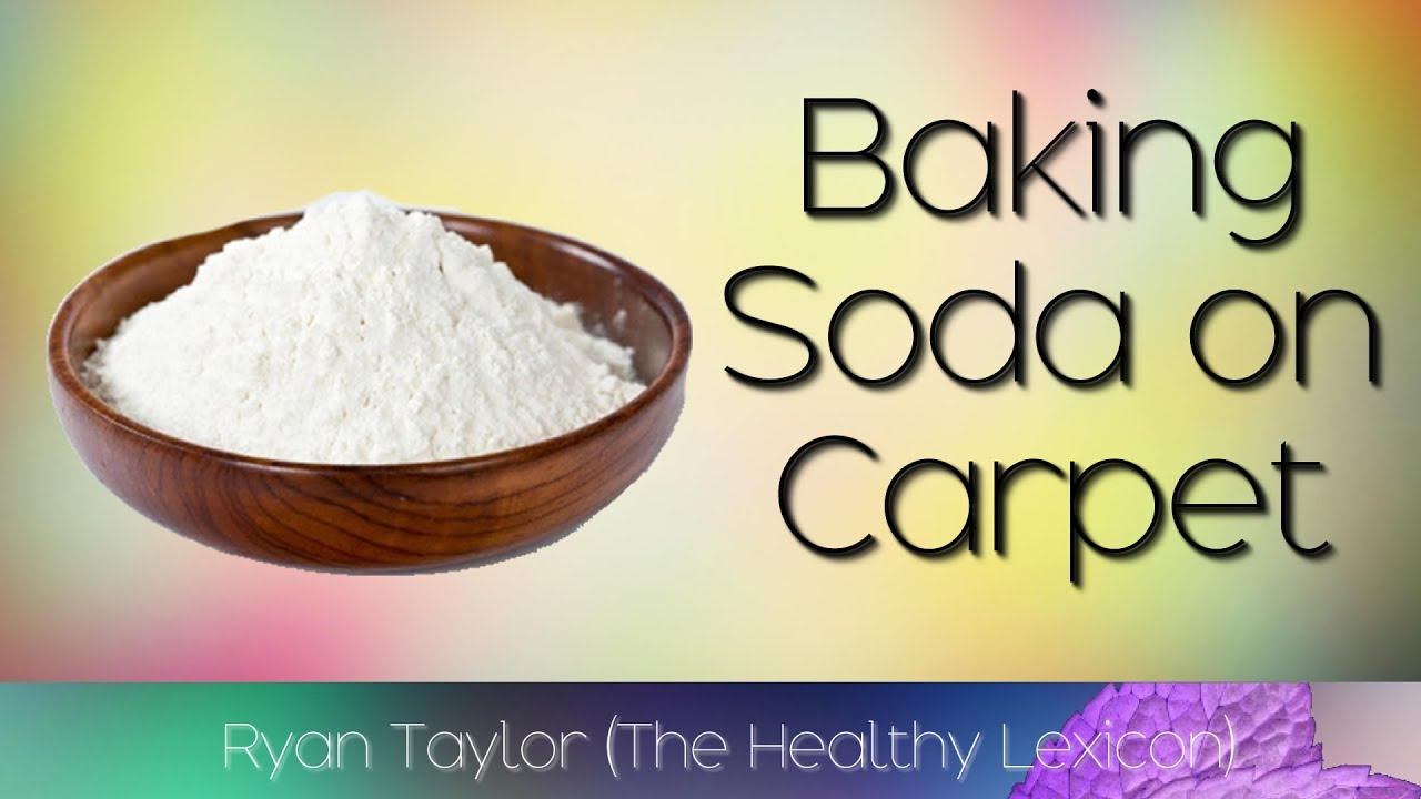 Baking Soda: on Carpet - YouTube