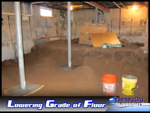 Lowering the basement