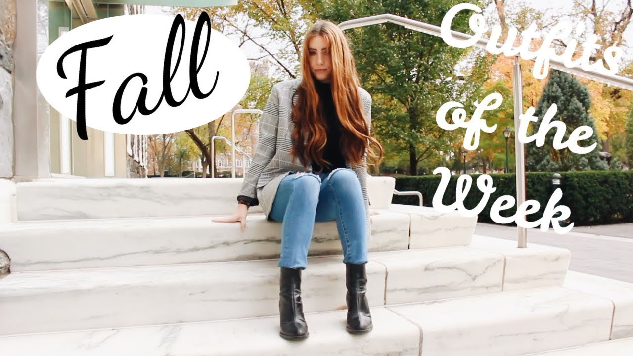 [VIDEO] - Fall Outfit Ideas 2017! ( OOTW FOR SCHOOL ) | Kaela Kilfoil 9
