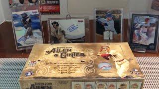 2018 Allen & Ginter Baseball Hobby Box And 2018 Optic White Sparkle Pack!!!