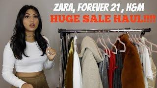 ZARA/FOREVER 21/H&M TRY ON HAUL