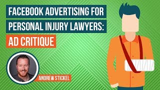 Facebook Advertising For Personal Injury Lawyers: Ad Critique