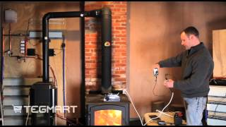 Devil Watt 45 watt Wood Burning Stove Thermoelectric Generator thumbnail
