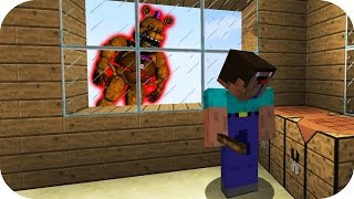 NOOB VS ANIMATRONICO CASA FNAF MINECRAFT TROLL + ROLEPLAY