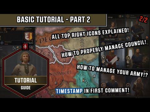 Crusader Kings 3 - Basic Tutorial Guide - Part 2/2