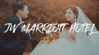 JW 메리어트 호텔_프리미엄 웨딩영상_4K_UHD(Cinematic wedding film, wedding movie, 4K)