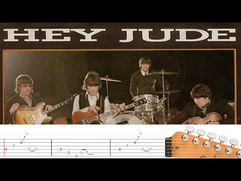 hey jude guitar tab beatles play guitar youtube