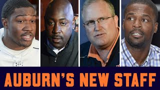 What do Auburn's new assistants bring to the table? Beat writers weigh in
