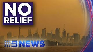 Sydney Smoke Similar To Smoking A Packet Of Cigarettes | Nine News Australia