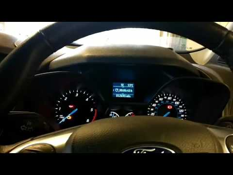 Ford Transit Connect Oil Service Reset Youtube