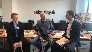 Dag Daniš a Marek Vagovič komentujú prvé kolo volieb